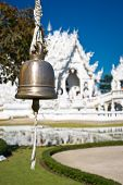 Bell In White Temple