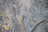Grey And Yellow Stone Surface, Natural Photo Texture. Natural Material Backdrop For Shabby Chic Desi poster