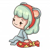 Star, Bag, Surprise, Present, Gift, Ears, Costume, 2020, Animal, Anime, Background, Banner, Calendar poster