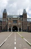Постер, плакат: Государственный музей Амстердама Амстердам Голландия музейной