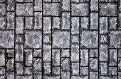Stone Tile Texture, Gray Stone Tile Background, Gray Geometric Texture, Gray Geometric Background, S poster