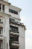 picture of neo-classic  - Details of an Old Neo Classical White Building - JPG