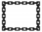 Black Chain Frame
