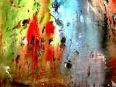 picture of acrylic painting  - abstract background painting with beautiful colors background - JPG