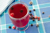 Compote Drink From Frozen Berries
