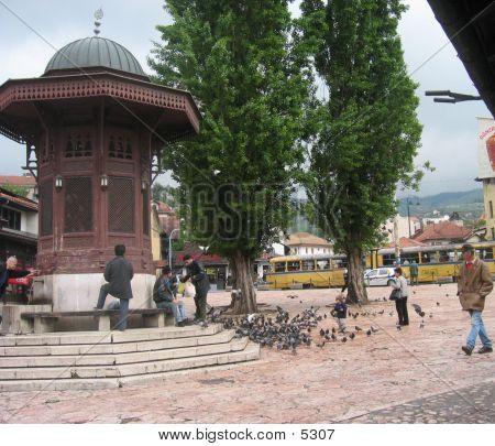 Old City Of Sarajevo poster