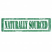 Naturally Sourced-stamp