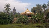 Wat Bakong Lying Near Siem Rap