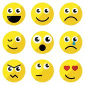 Sef Of Basic Emoticons