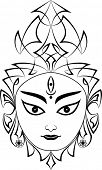 picture of durga  - Durga The Goddess Of Power - JPG