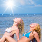 picture of denude  - Portrait In Bikini Couple - JPG