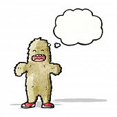 foto of big-foot  - Cartoon Big Foot - JPG
