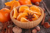 picture of clementine-orange  - orange and spices - JPG
