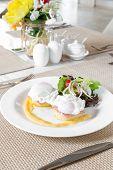 picture of benediction  - Eggs Benedict - JPG