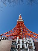 image of minato  - High red Tokyo Tower 332 - JPG