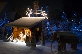 picture of nativity scene  - Nativity scene - JPG