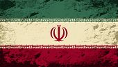 picture of iranian  - Iranian flag Grunge background - JPG