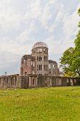 picture of bomb  - Hiroshima Peace Memorial  - JPG