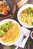 image of scrambled eggs  - omelet - JPG