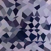 image of licorice  - Low polygon style illustration of a licorice black abstract geometric background - JPG