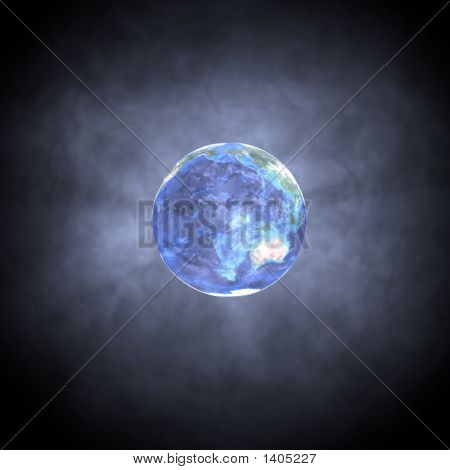 Earth Glow  poster