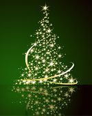 picture of christmas star  - Christmas tree - JPG
