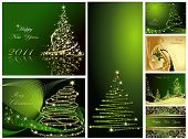 foto of happy holidays  - Merry Christmas and Happy New Year collection - JPG