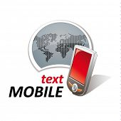 pic of mobile-phone  - mobile phone sign  - JPG