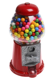 foto of gumball machine  - gumball machine - JPG