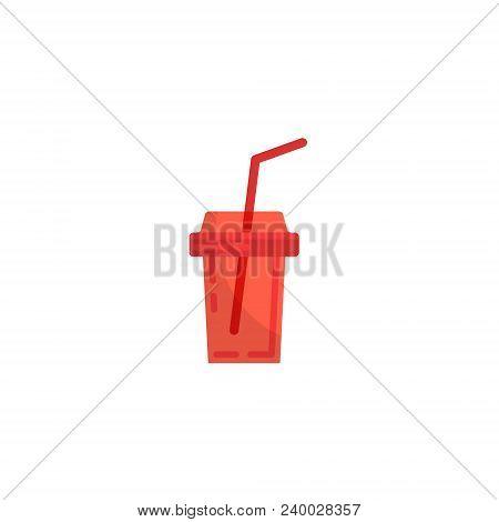 Cola Plastic Cup Image Icon