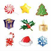 Постер, плакат: Icons Eps Рождество