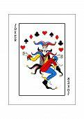 The Illustration - Playing Card For Poker - Joker. poster