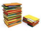 stock photo of manila paper  - Folders - JPG