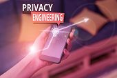 Handwriting Text Privacy Engineering. Concept Meaning Engineered Systems Provide Acceptable Levels O poster