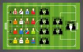picture of offside  - Euro 2012 tournament scheme on soccer  - JPG