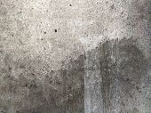 Grey Concrete Texture Old Wall With Scratches And Cracks poster