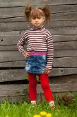 pic of cute little girl  - Beautiful little five - JPG