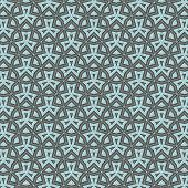 Modern Stylish Texture With Propellers. Repeating Geometric Tiles With Lattice. poster