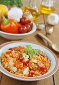 Red Lentils With Vegetables