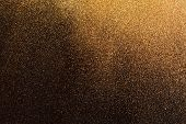 image of gold-dust  - gold background - JPG