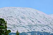 picture of ural mountains  - One of the elevations of the mountain range Kvarkush in the Ural Mountains - JPG