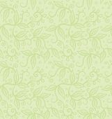 Seamlessly Repeating Leaf Wallpaper Pattern. Spring-summer Background
