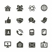 picture of social housing  - Communication and media icons - JPG