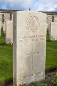 picture of tyne  - Tyne Cot Cemetery in Ypres world war belgium flanders - JPG