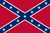 stock photo of confederate flag  - Confederate flag  - JPG