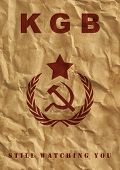 stock photo of communist symbol  - Poster of USSR - JPG