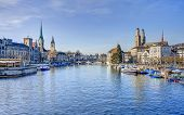 stock photo of zurich  - Zurich Switzerland  - JPG