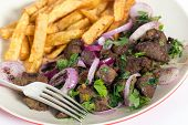 pic of liver fry  - Albanian Liver - JPG