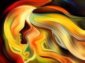 stock photo of metaphysical  - Colors of the Mind series - JPG