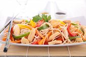 image of noodles  - chinese noodles - JPG